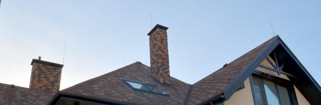 Громоотводы на крыше